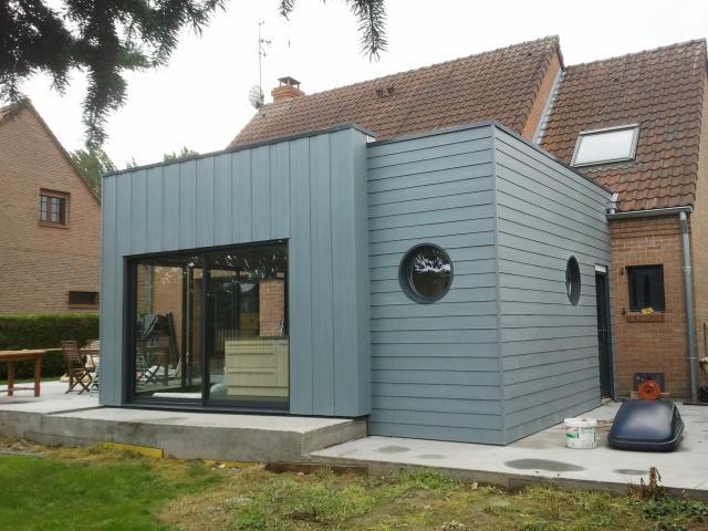 Extension bois Cambrai (59)
